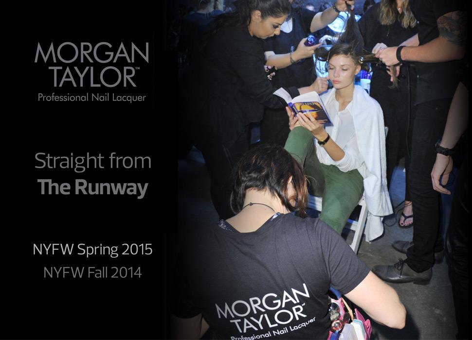 Morgan Taylor at the New York Fashion Week 2014