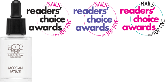 Nails Reader's Choice Awards 2018, 2017, adn 2016 Top Five