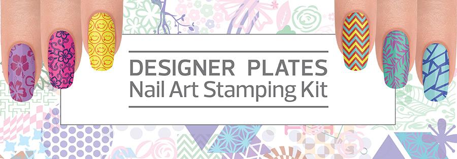 Designer Plates Nail Art Stamping Kit