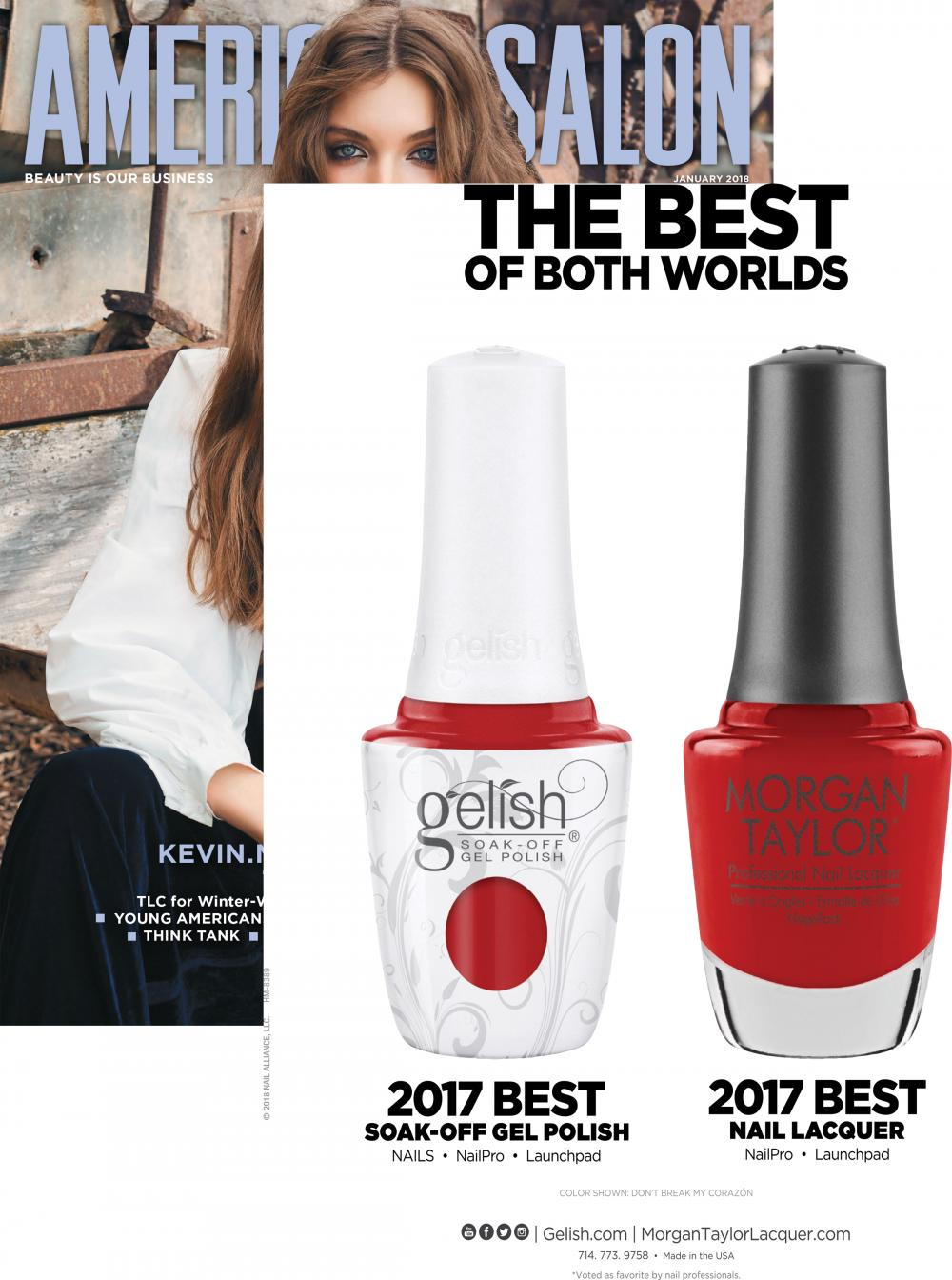 AMERICAN SALON - January, 2018