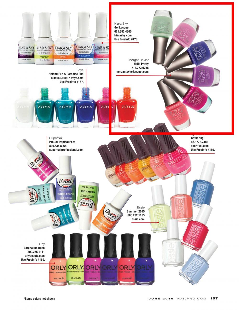 NAILPRO MAGAZINE - June, 2015