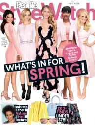March, 2016 PEOPLE STYLE WATCH