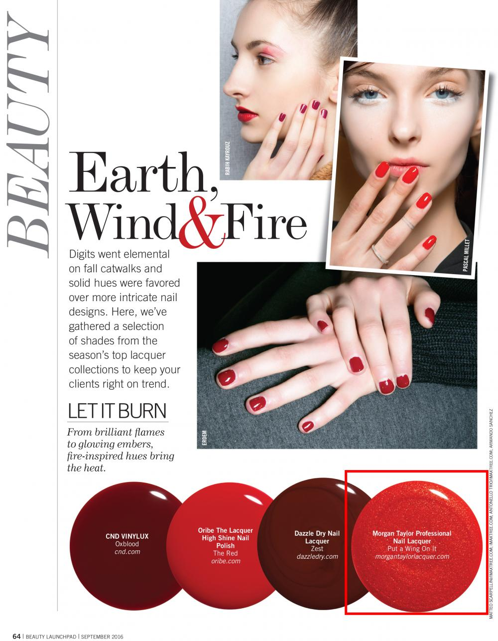BEAUTY LAUNCHPAD MAGAZINE - September, 2016