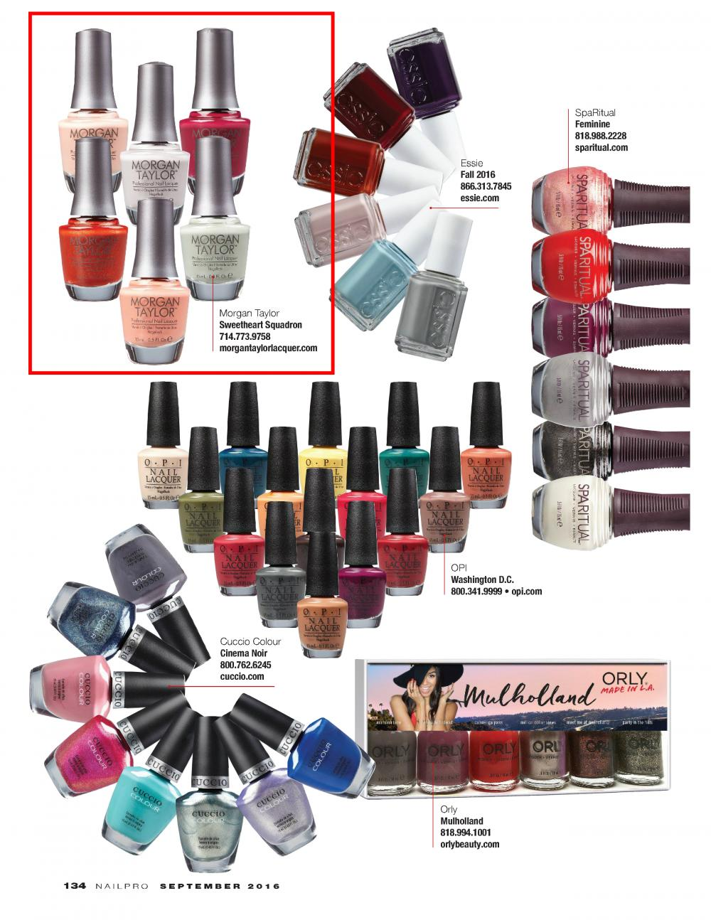 NAILPRO MAGAZINE - September, 2016