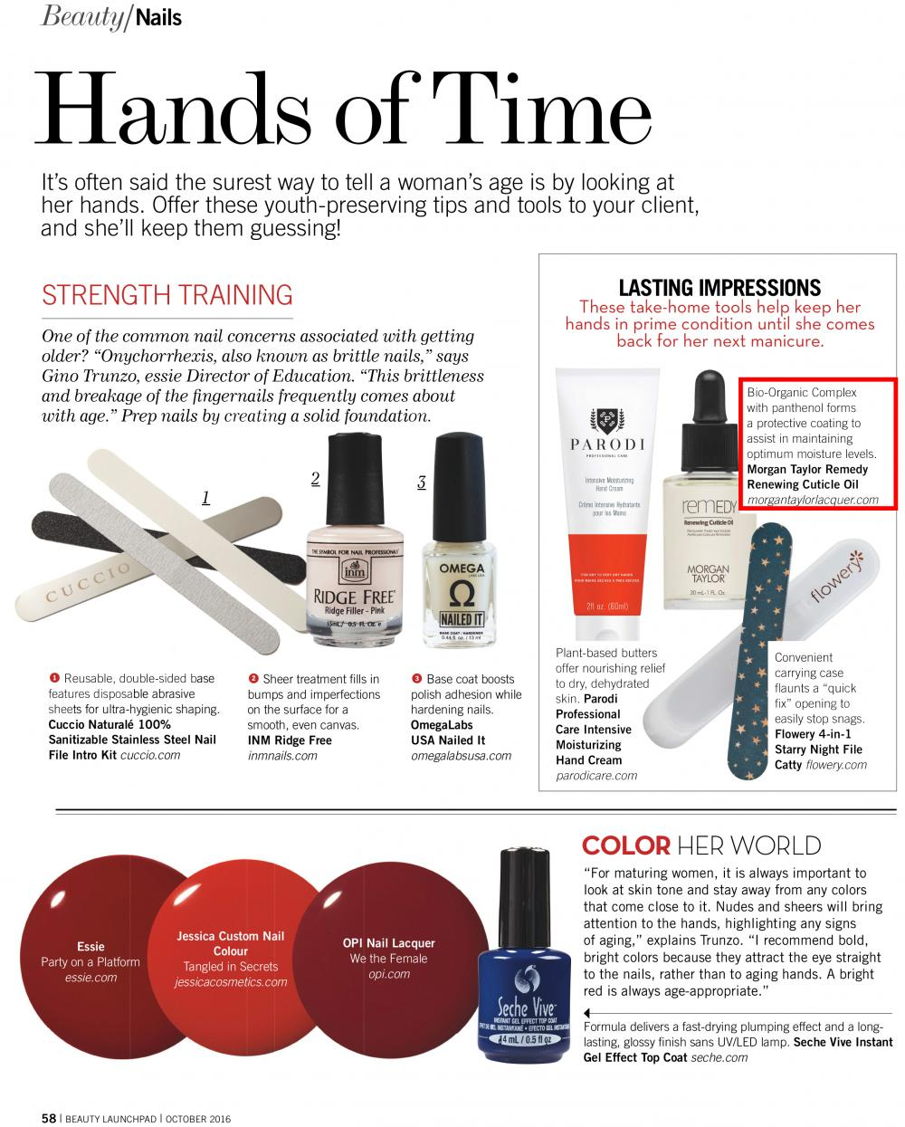 BEAUTY LAUNCHPAD MAGAZINE - October, 2016