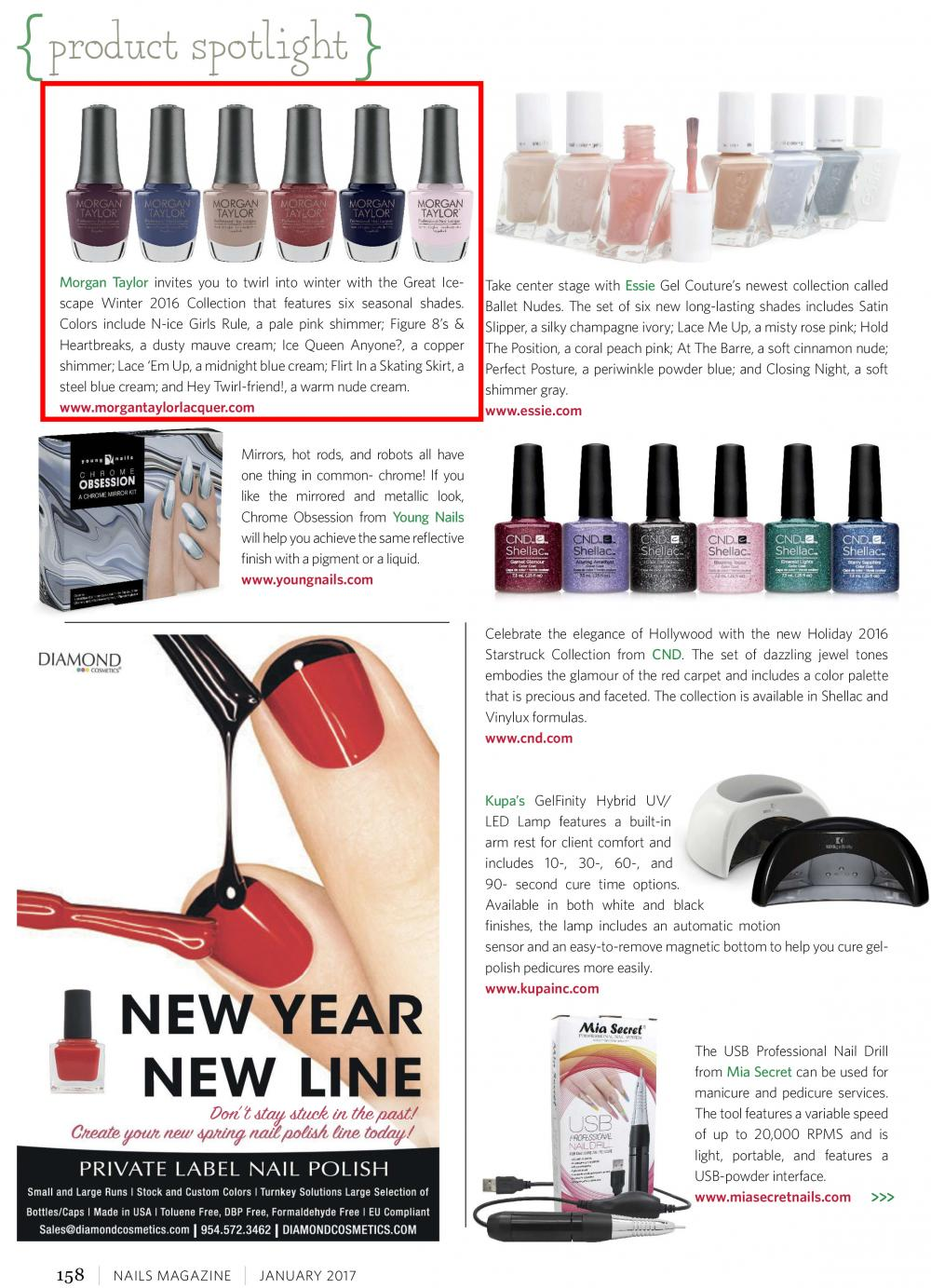 NAILS MAGAZINE - January, 2017