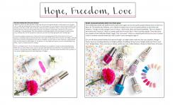 March, 2016 HOPE, FREEDOM, LOVE